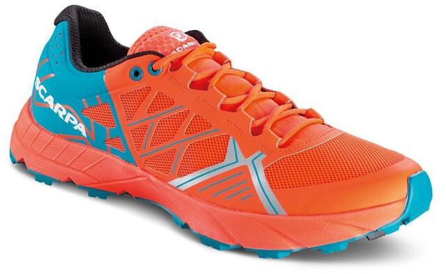 Scarpa Spin Schuhe Damen bright redsea